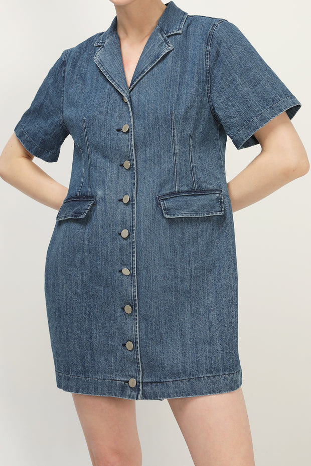 storets.com Harper Denim Mini Dress