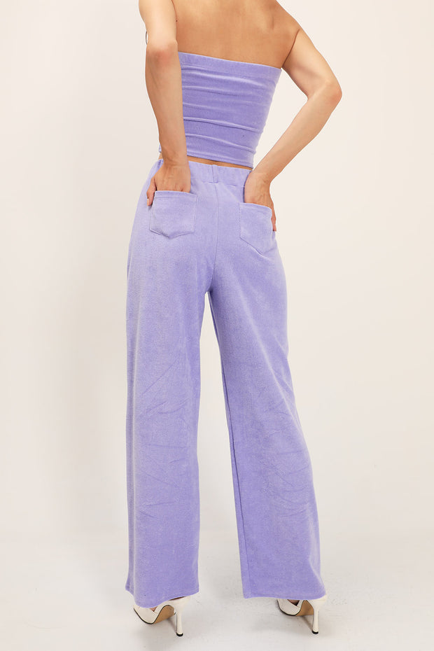Joy Textured Tube Top and Pants Set