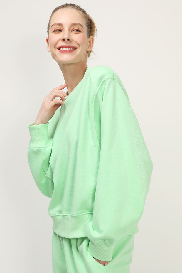 storets.com Luz Padded Shoulder Sweatshirt