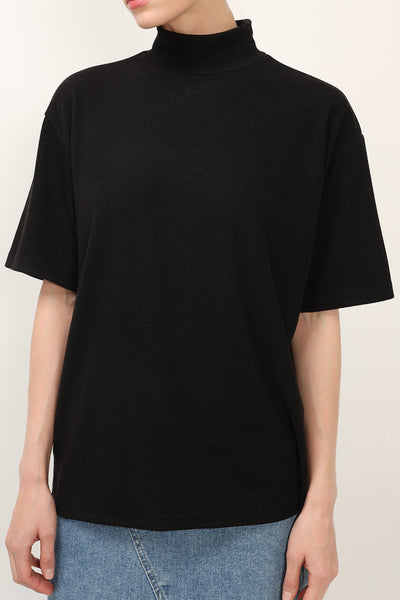 storets.com Madilyn Oversized High Neck Top