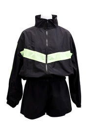 Avery Windbreaker Jacket And Shorts Set
