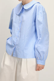 Joanna Asymmetric Collar Shirt