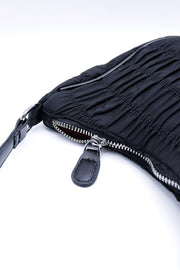 Ruched Mini Handbag