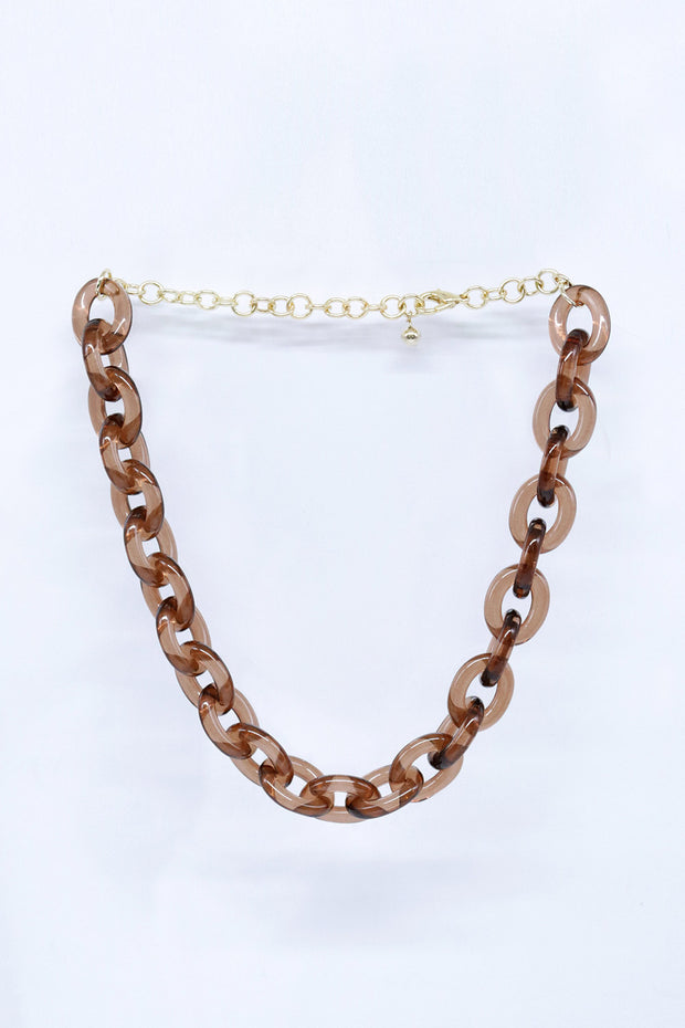 Acrylic Chunky Chain Necklace