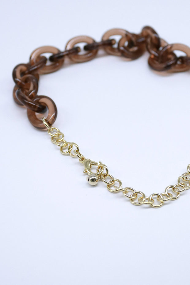 storets.com Acrylic Chunky Chain Necklace
