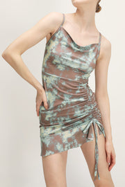 storets.com Morgan Tie Dye Ruched Dress