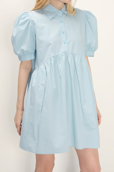 storets.com Abigail Collared Babydoll Dress
