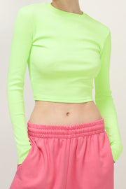 storets.com Cora Slim Fit Crop Top