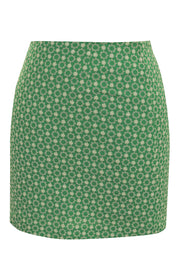 storets.com Audrey Flower Embroidered Skirt