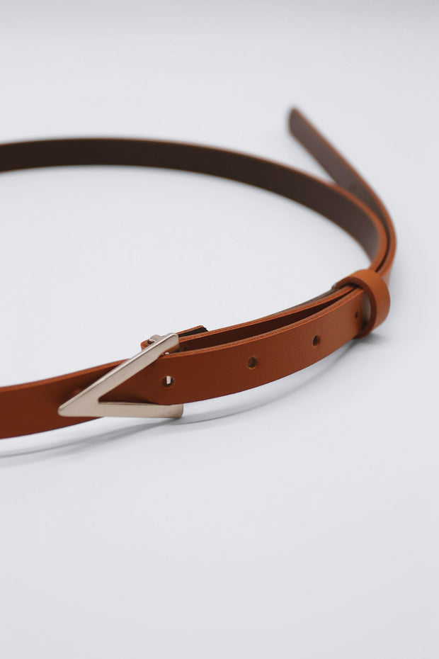 Triangle Buckle Belt