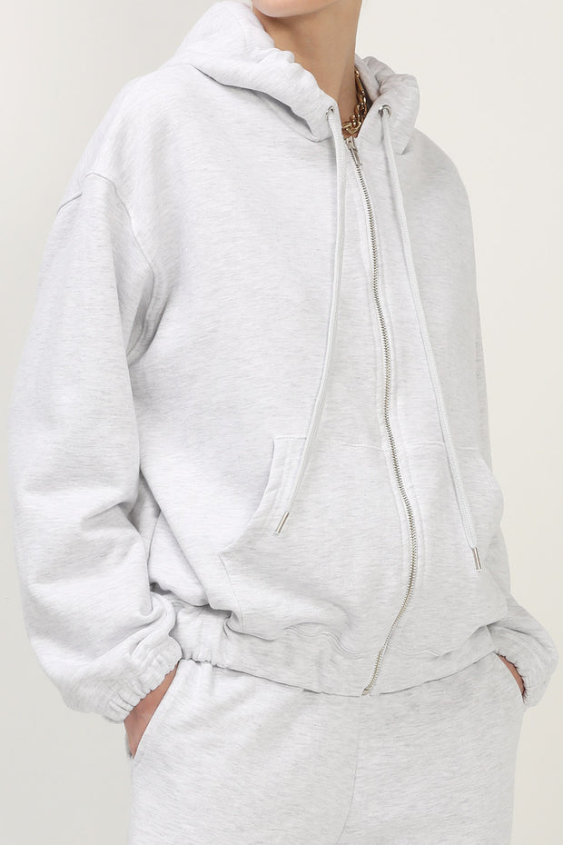 storets.com Willow Oversized Sweat Hoodie Jacket
