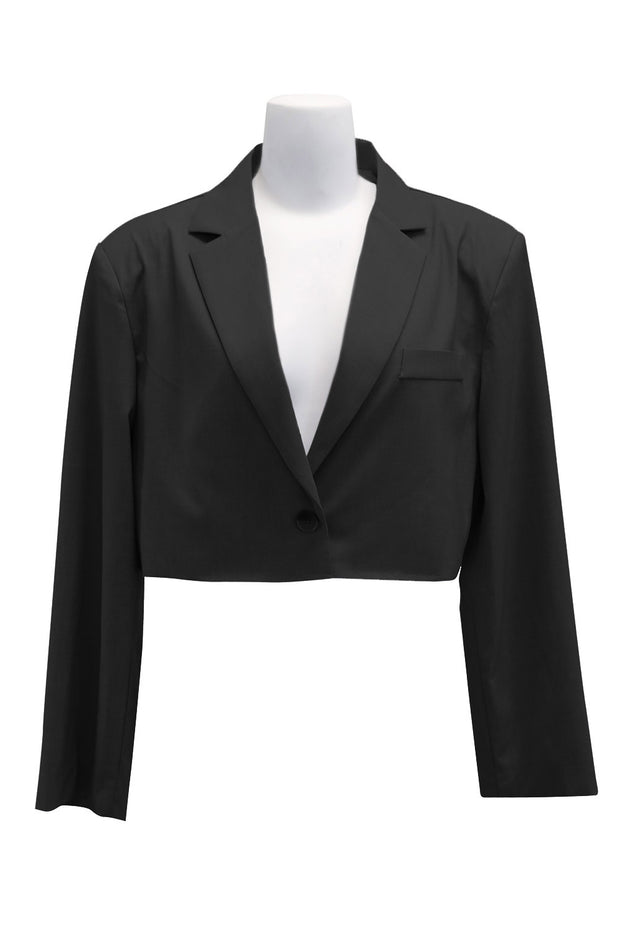 storets.com Maya Frayed Crop Jacket