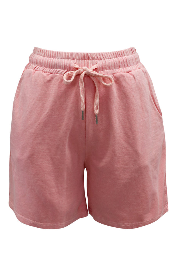 Brielle Drawstring Sweat Shorts