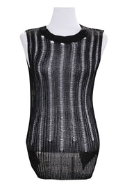 Nadia Ripped Knitted Tank Top