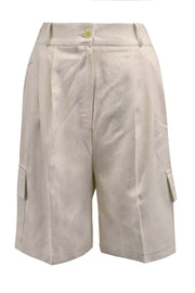 Kylie Cargo Pocket Bermuda Shorts