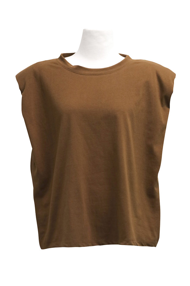 storets.com Elena Padded Shoulder T-shirt