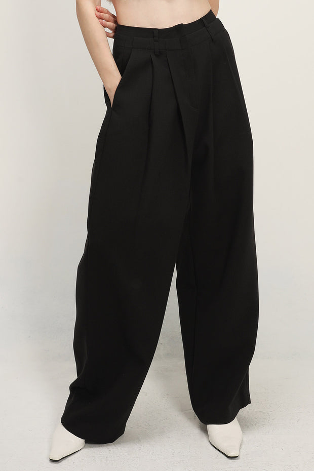 storets.com Lillian Pintuck Wide Leg Pants