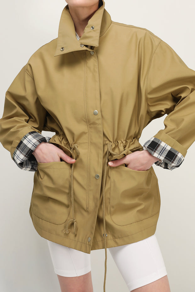 storets.com Taylor Oversized Safari Jacket
