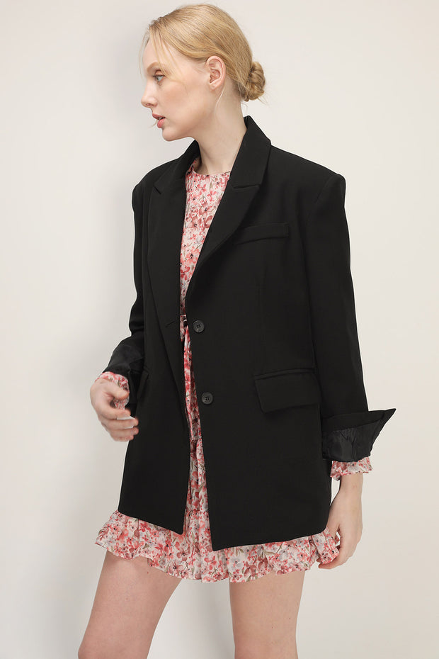 storets.com Elise Padded Shoulder Jacket