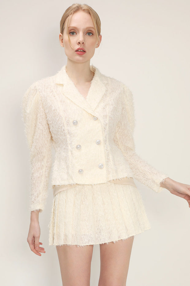 storets.com Robin Textured Lace Blouse