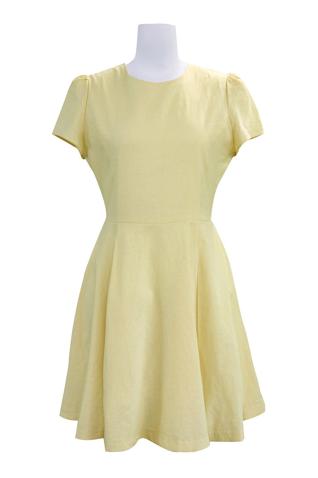 storets.com Kelly Fit &Flare Linen Dress
