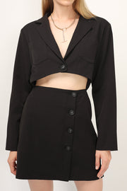 Cassidy Cutout Jacket Dress