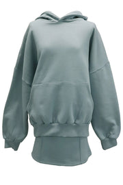 Aria Sweat Hoodie And Skirt Set