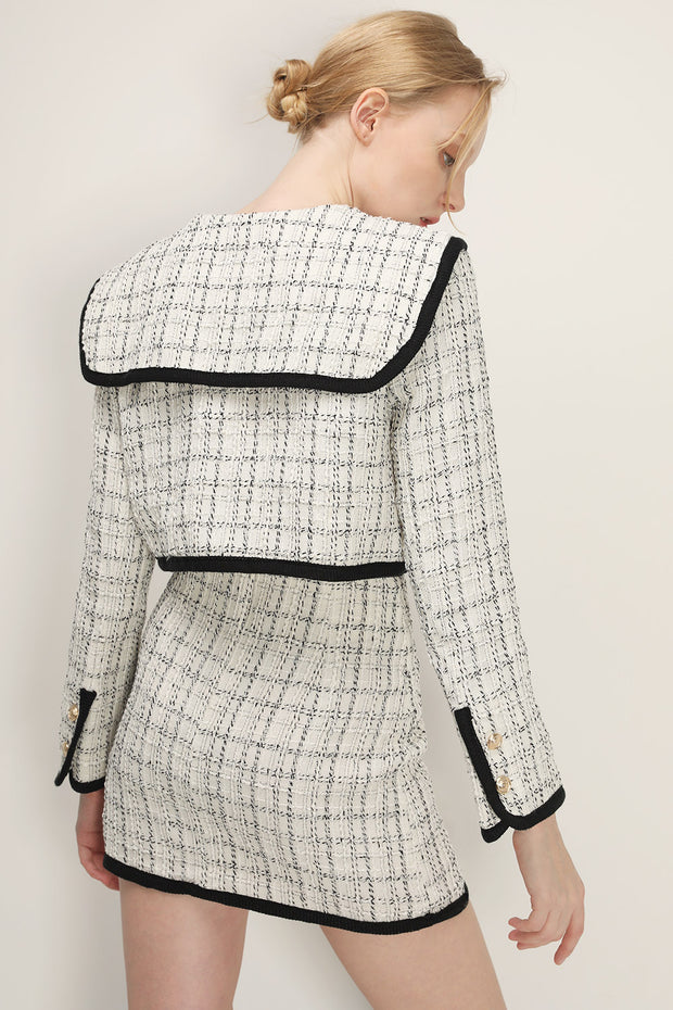 storets.com Brittany Tweed Trim Jacket
