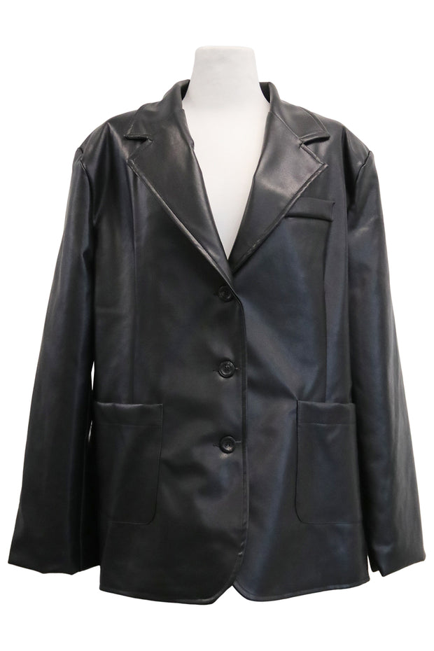 Audrey Pleather Jacket