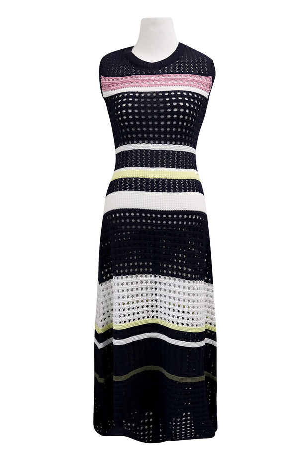 storets.com Celine Stripe Knitted Dress