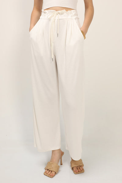 Riley Pintuck Wide Leg Pants