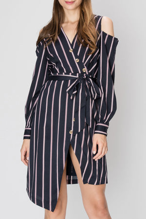 Trina Striped Dress (Pre-Order)