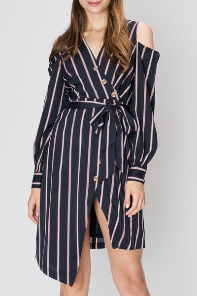 Trina Striped Dress