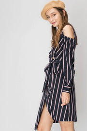 storets.com Trina Striped Dress
