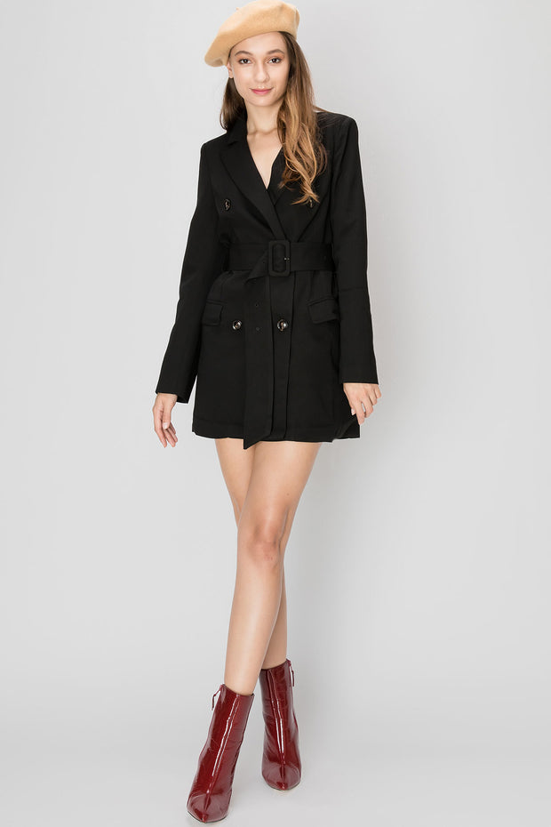 storets.com Isabella Blazer Short Dress