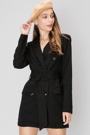 Isabella Blazer Short Dress (Pre-Order)