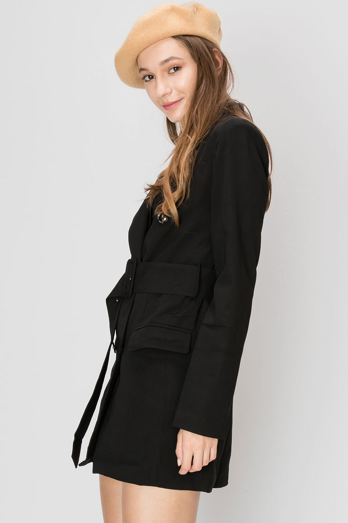 Isabella Blazer Short Dress