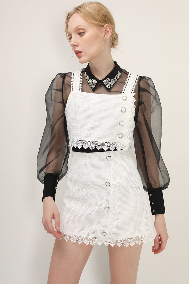 storets.com Ellie Buttoned Sleeveless Top
