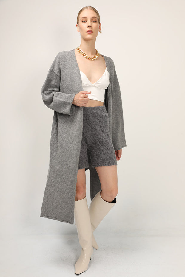 storets.com Julia Knitted Long Cardigan Coat