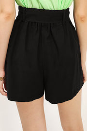 storets.com Avery Belted Pintuck Shorts