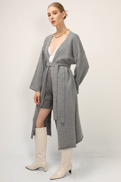 Julia Knitted Long Cardigan Coat