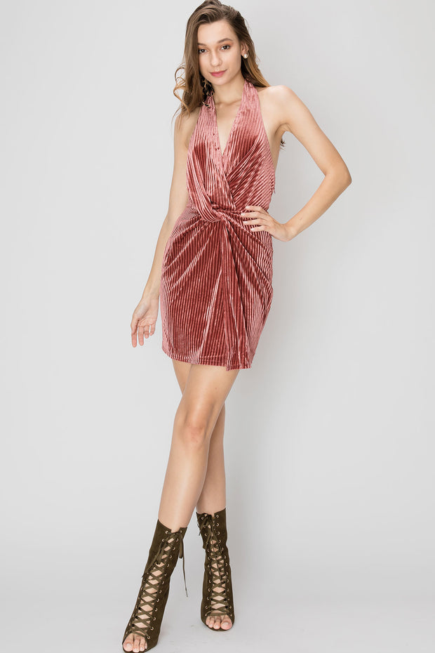 Tabitha Velvet Dress