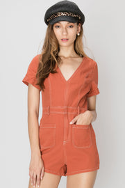 Malia Structured Romper