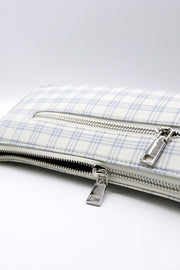 Plaid Check Mini Bag