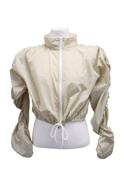 storets.com Gianna Ruched Sleeve Bomber