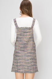 Claire Colored Pinafore