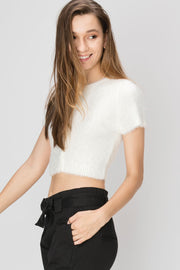 Linda Knit Shortsleeve Top