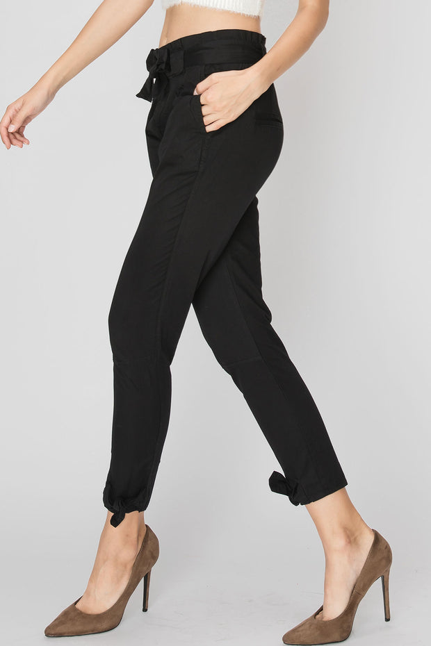 storets.com Cleo Bow Trim Pants-2 Colors