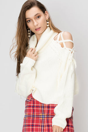 Eileen Open Turtleneck Sweater