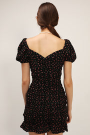 storets.com Abby Floral Ruched Dress